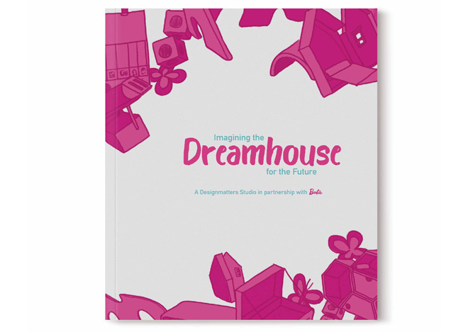 Barbie Dreamhouse Publication Front Cover