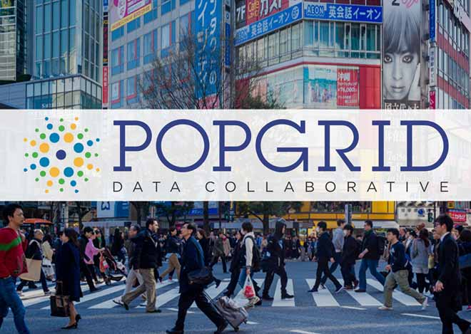 POPGRID Data Collaborative Logo over Image